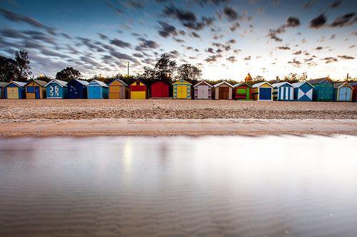 Boxes, brighton beach, melbourne