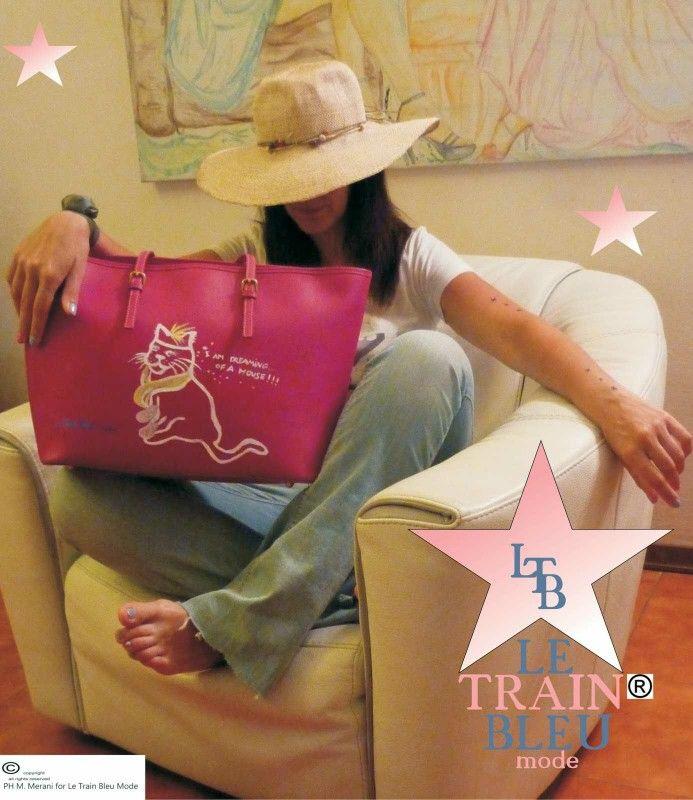 Happy Gin Bag by Le Train Bleu Mode
