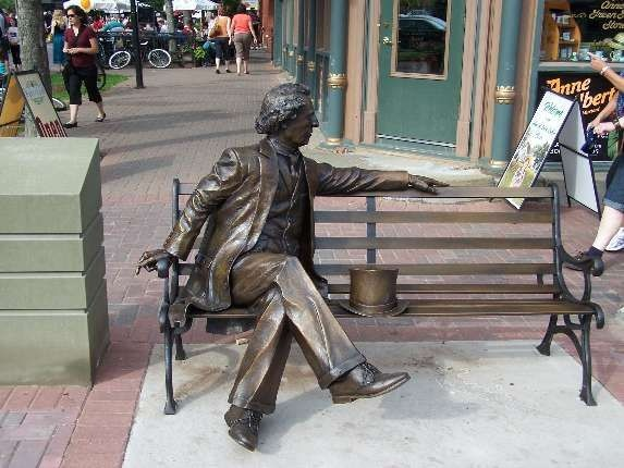 Sir John A. MacDonald would like to have a word with you. Will you please join him?: Sir John