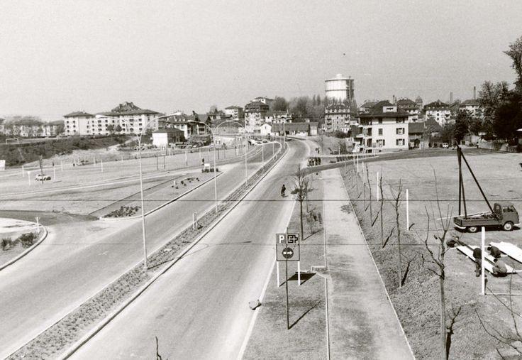 L'avenue de #Provence, réalisée pour l'Exposition nationale de 1964. Image: Service d'urbanisme de la Ville de #Lausanne