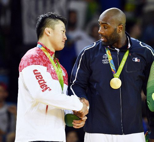 【柔道】原沢が銀!日本柔道最多のメダル12個…男子100キロ超級 #リオ五輪 #柔道