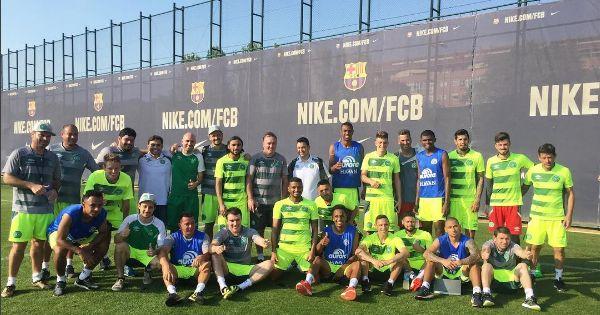Em solidariedade, Barça recebe a Chape pelo Troféu Joan Gamper