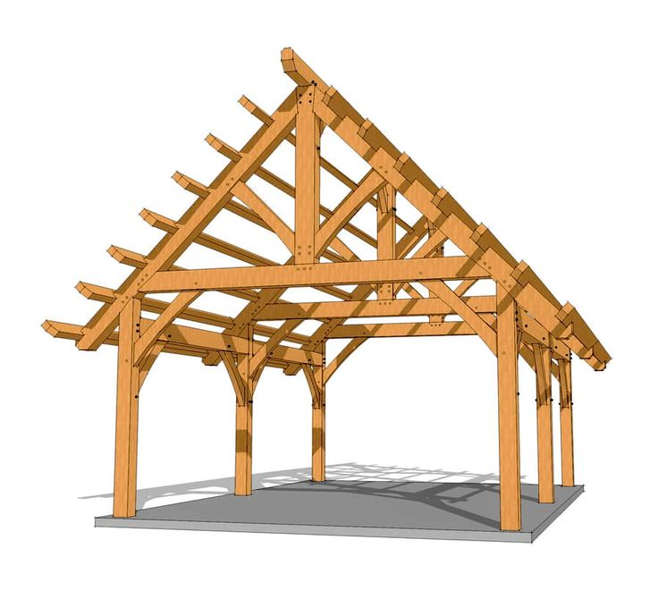 121 Best Timber Frame Plans Images On Pinterest Timber