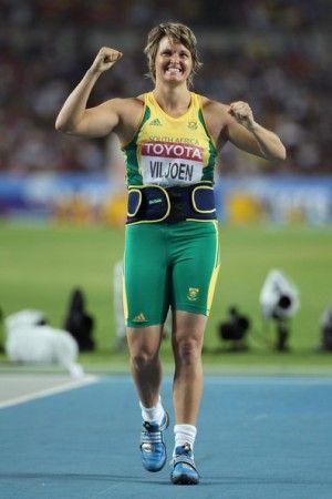Sunette Viljoen Rio 2016 Silver Medalist Javelin