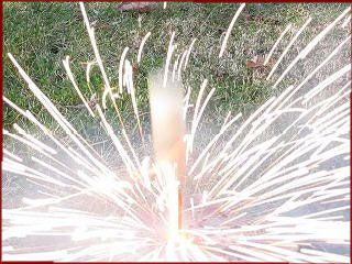 Stinger Missile Fireworks Rockets - Free Project Shows How to Make Them