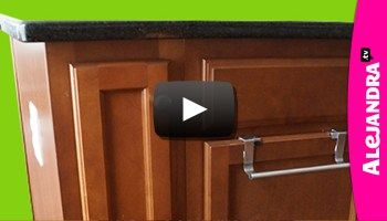 [VIDEO]: How to Organize a Narrow Kitchen Cabinet