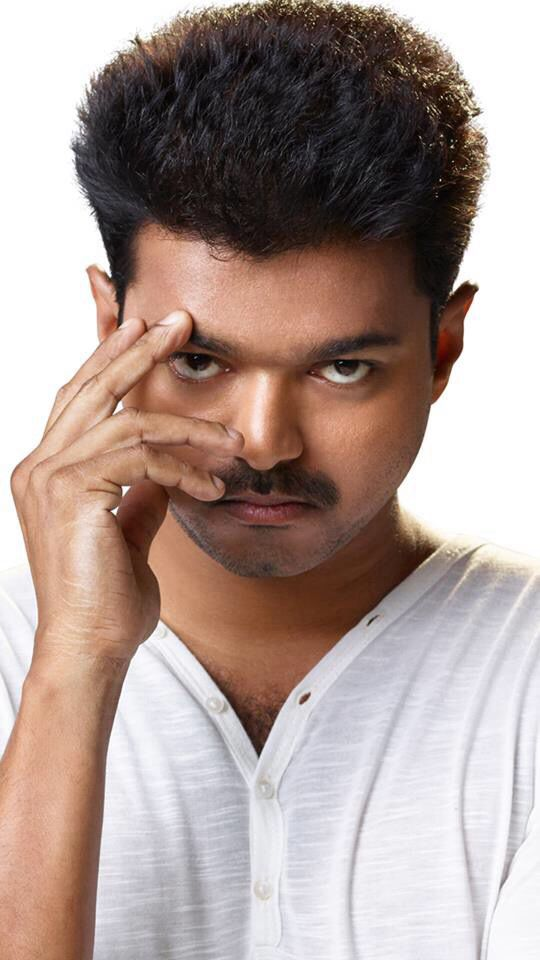 thuppakki vijay hair style vijay new hairstyle in kaththi www imgkid the 8897