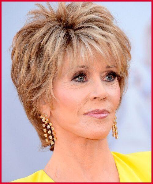 Hairstyle Jane Fonda
