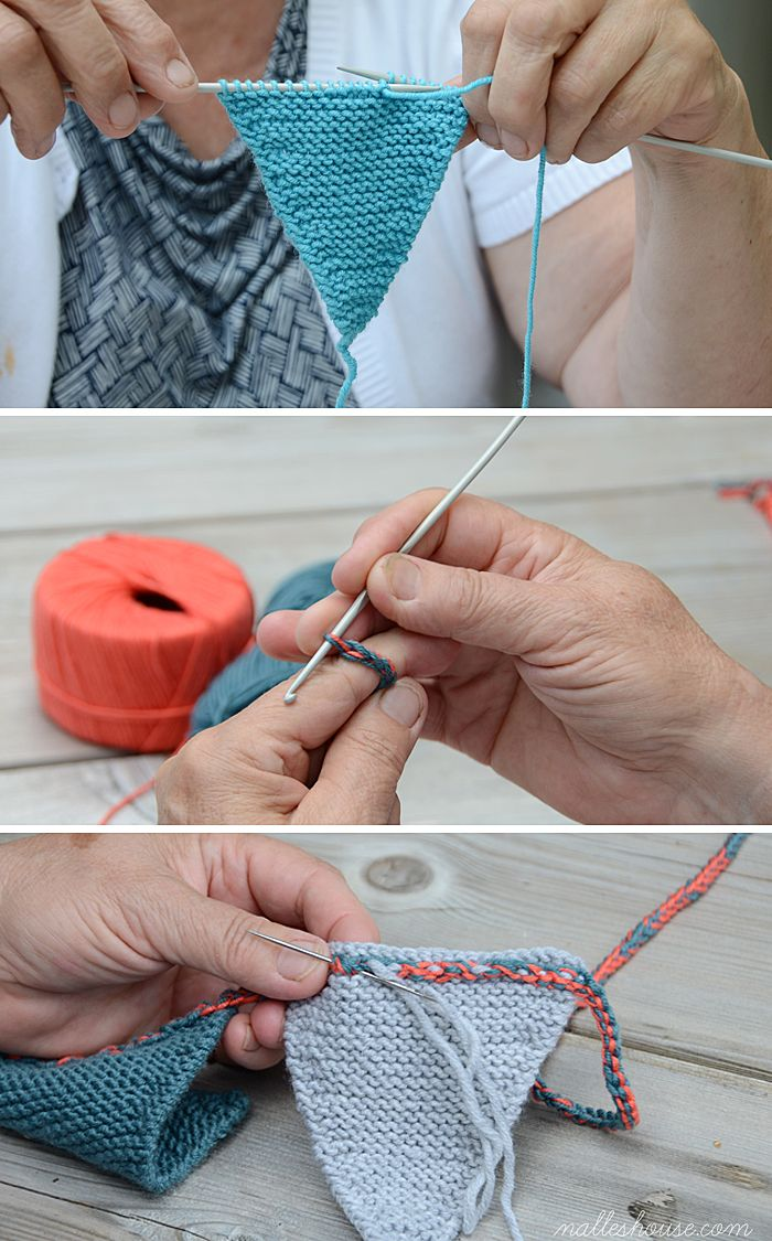 HAND-KNIT BUNTING