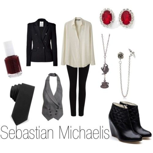 black butler inspired outfits | Character Inspired Fashion