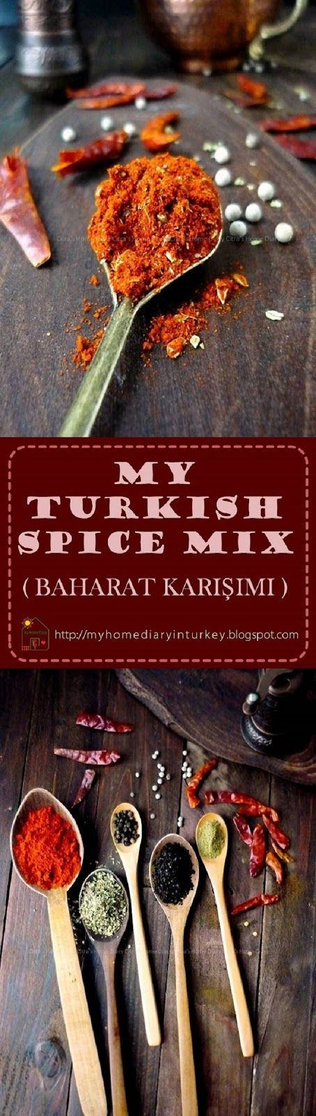 TURKİSH SPİCE MİX ( BAHARAT KARIŞIMI ) +