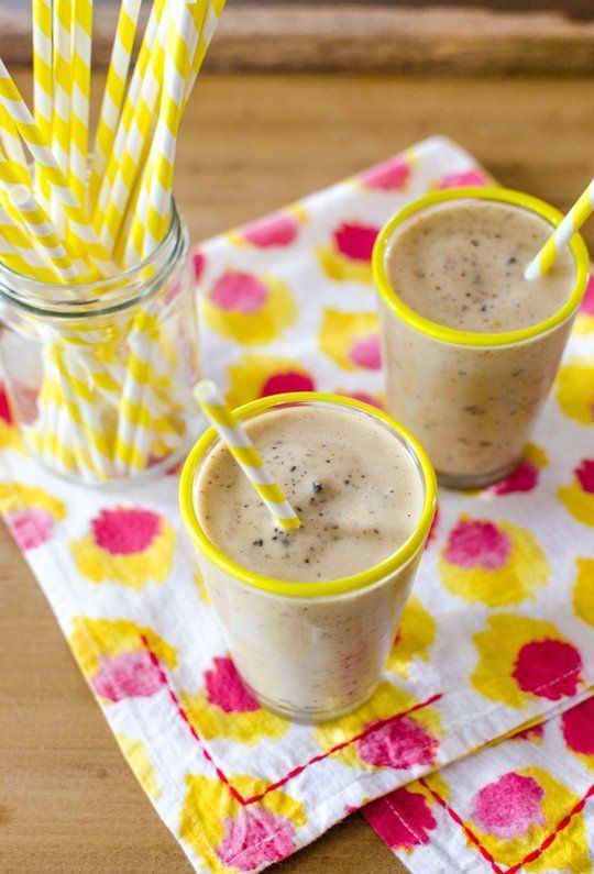 Lighter Treat Recipe: Frozen Banana, Peanut Butter & Chocolate Chip Milkshake — Recipes from The Kitchn