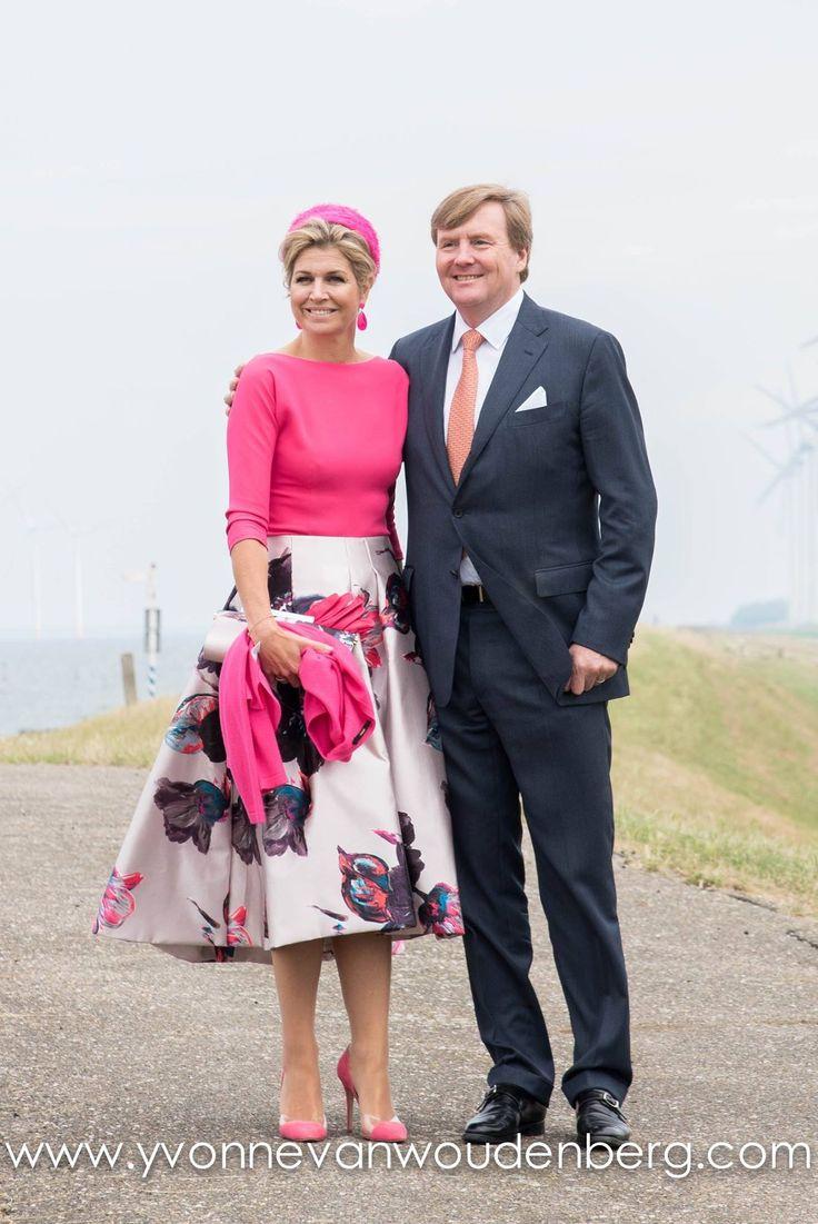 Queen Maxima and King Willem-Alexander, June 2017