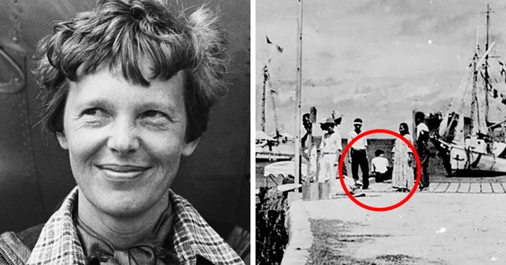 Internet Is Freaking Out About This Newly Discovered Photo That Shows Amelia Earhart Survived Her Crash   Bored Panda