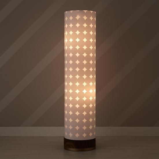 Dotted Glow Floor Lamp   Its Tall, Double Lined Shade Lets The Subtle  Dotted Pattern Stand Out While Giving Off A Brilliant Glow. Part 56