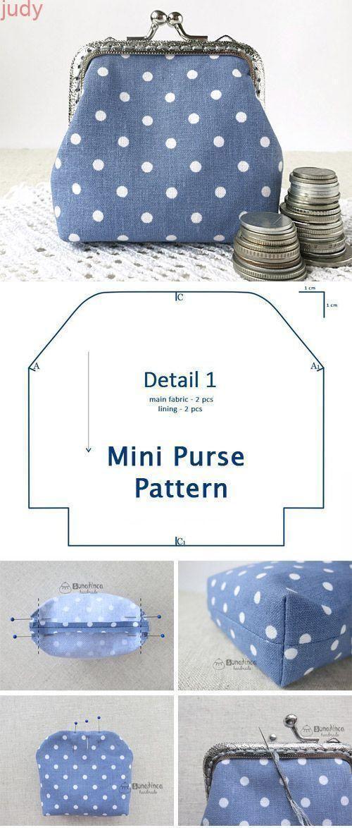 Clasp Coin Purse Tutorial