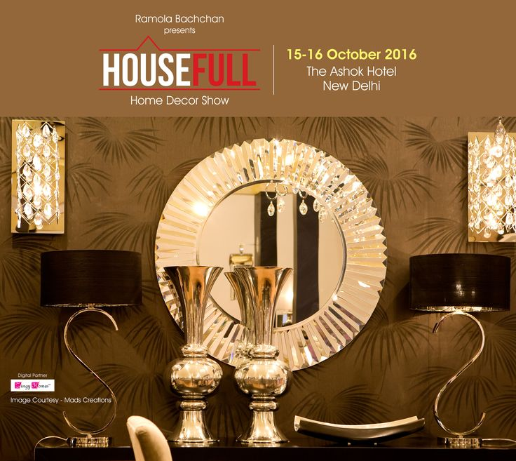 We've handpicked the BEST brands for the impending season of Diwali just for you only and exclusively at #HouseFull2016 #HouseFullExhibition #InteriorDesigner #Decoration #Accessories #LuxuryHomes #Fashion #LuxuryDecor #LuxuryMeetsArt #Interior #Architect #FurnitureIndia #DecorIdeas #RamolaBachchan #Delhi #Shopping