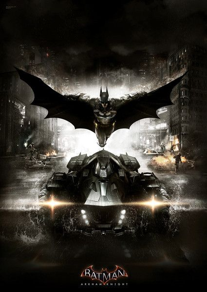 Batman Arkham Knight The Batmobile MightyPrint