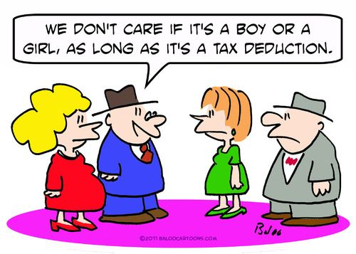 All a tax deduction gives you is a discount on an item, so make sure you spend wisely. A tax deduction wont make you wealthy.