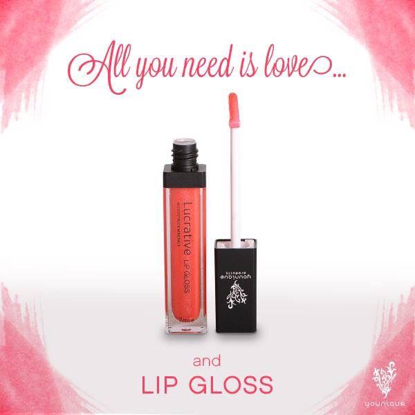 Lucrative Lip Gloss!! Shop now at www.makeupwithkimbrell.com