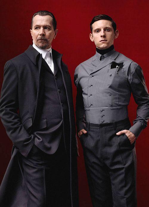 Gary Oldman and Jamie Bell for Prada  - Mode prêt à porter - Haute couture - Prada