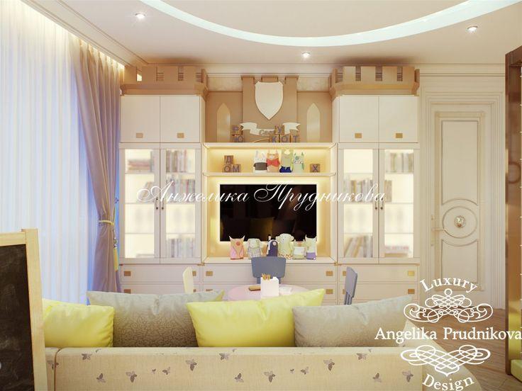 Дизайн проект интерьера игровой комнаты в ЖК Кутузовская Ривьера - фото
