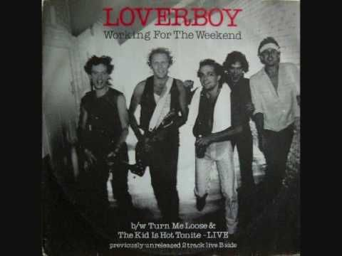 """Loverboy- Working For The Weekend Copyright Disclaimer Under Section 107 of the Copyright Act 1976, allowance is made for """"fair use"""" for purposes such as cri..."""