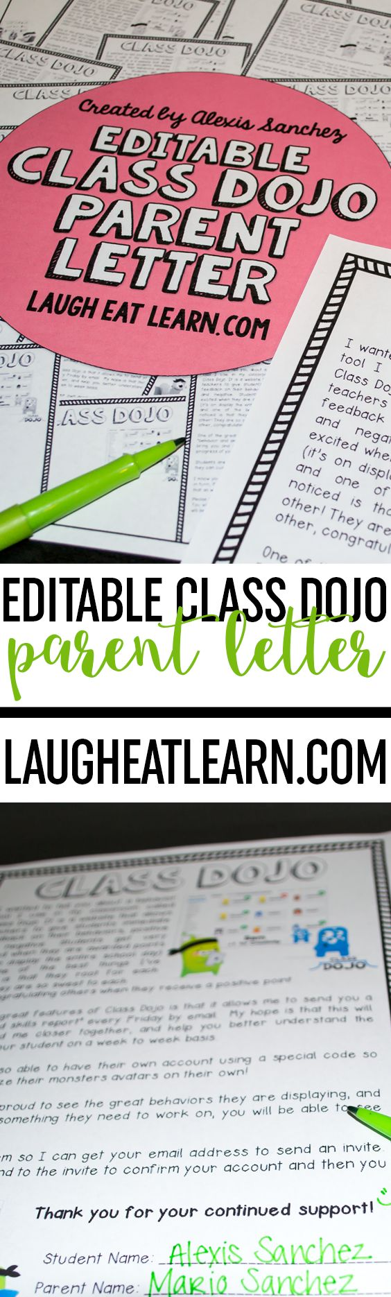 Do you DOJO? I use class dojo in my classroom and absolutely love it! My parents do too! Especially after I sent home this FREE introduction letter at the beginning of the school year!