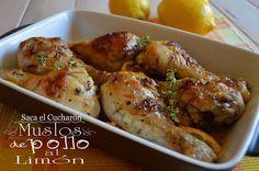Pollo al limón. Sabemos que te gusta y tenemos una fabulosa receta para que lo prepares