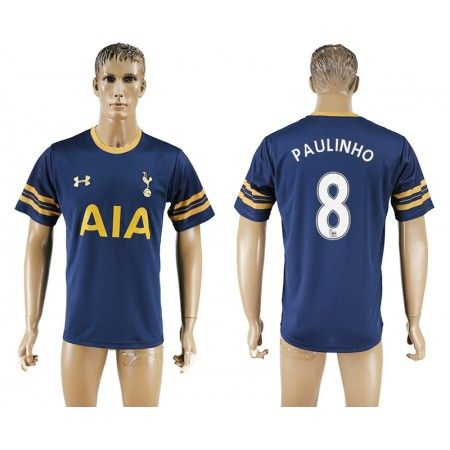 Tottenham Hotspurs 16-17 #Paulinho 8 Udebanetrøje Kort ærmer,208,58KR,shirtshopservice@gmail.com