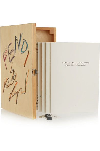 Thames & Hudson | Karl Lagerfeld: Fendi 50 Years – Set aus vier Büchern | NET-A-PORTER.COM