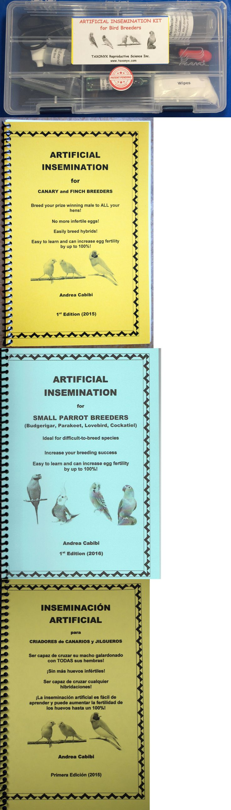 Other Bird Supplies 3211: Artificial Insemination Kit For Bird Breeders BUY IT NOW ONLY: $105.0