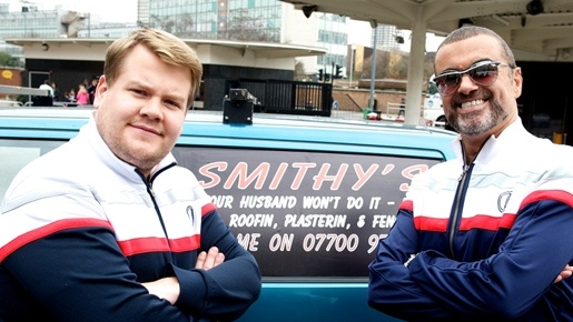 James Corden's alter ego Smithy and George Michael team up for a hilarious sketch for Red Nose Day 2011. www.rednoseday.com