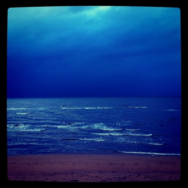 the beach jus down from my place one stormy afternoon