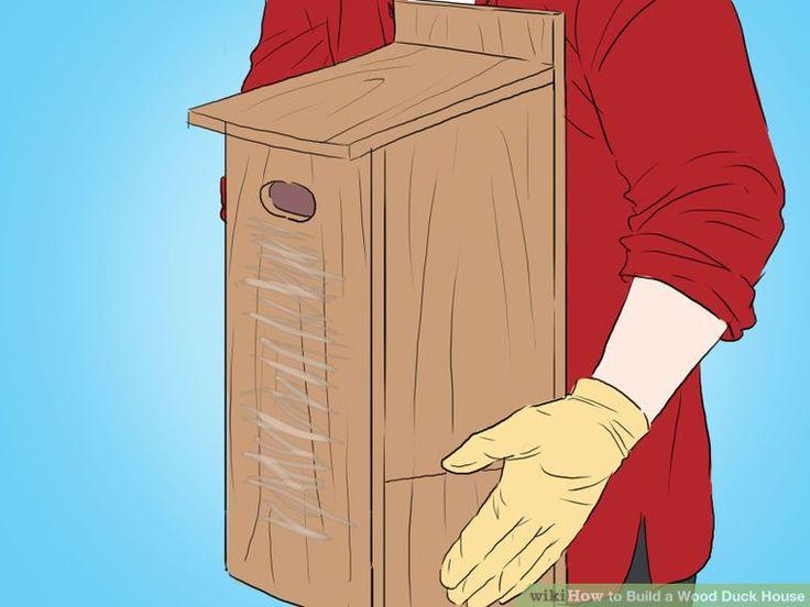 Build a Wood Duck House Step 12