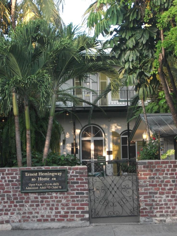 Ernest Hemingway's house. Key West, Florida