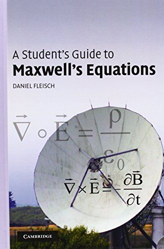 A Student's Guide to Maxwell's Equations:   Gauss's law for electric fields, Gauss's law for magnetic fields, Faraday's law, and the Ampere-Maxwell law are four of the most influential equations in science. In this guide for students, each equation is the subject of an entire chapter, with detailed, plain-language explanations of the physical meaning of each symbol in the equation, for both the integral and differential forms. The final chapter shows how Maxwell's equations may be comb...