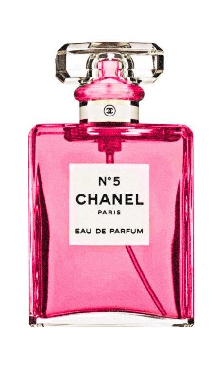 Pink Chanel No. 5