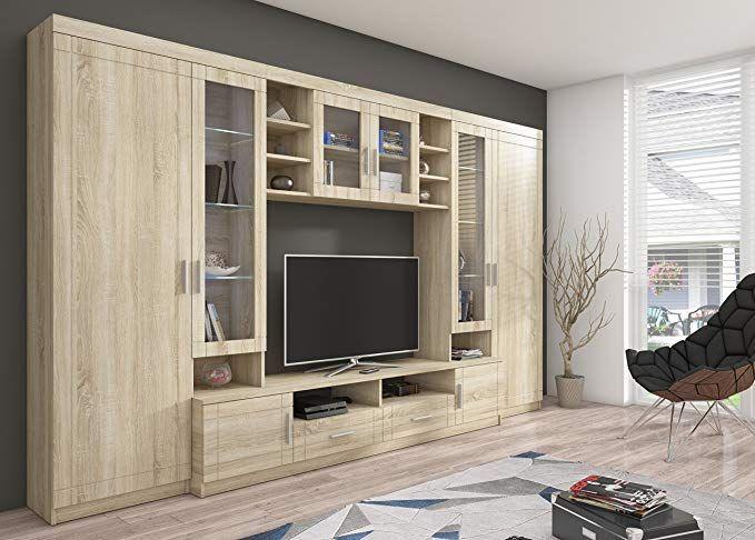 Home Direct Peter, Modernes Wohnzimmer, Wohnwände, Wohnschränke