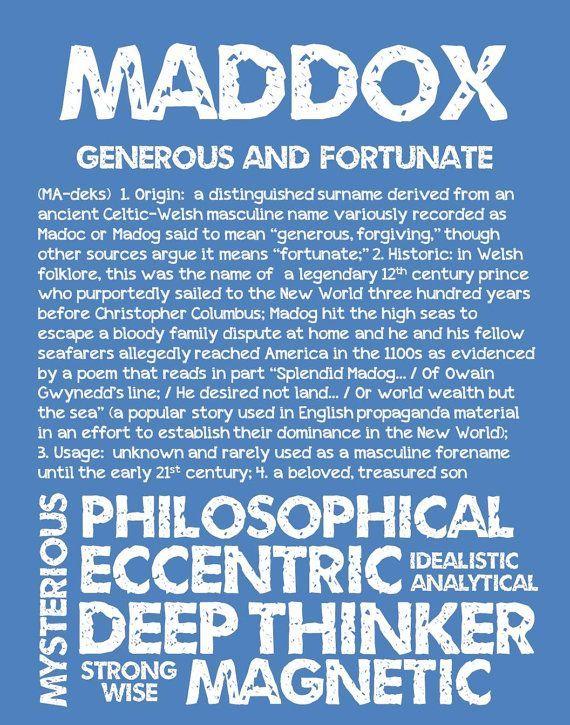 Maddox Personalized Name Print Typography Print By Ohbabynames Jaxon Baby Name Ideas Of Jaxon Ba Baby Names And Meanings Baby Boy Names 2020 Baby Names