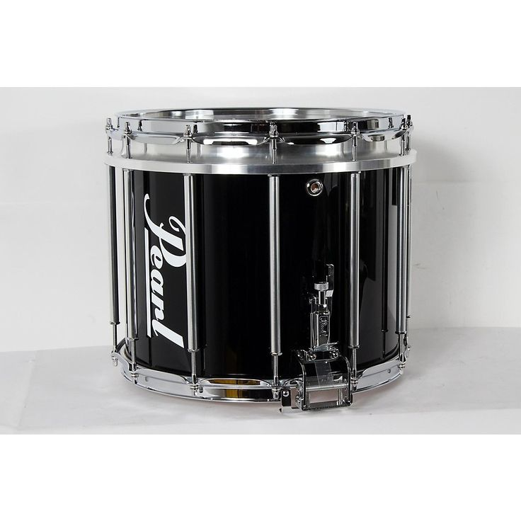 Pearl Competitor High-Tension Marching Snare Drum Midnight Black, 14 x 12 in. High Tension 190839074713
