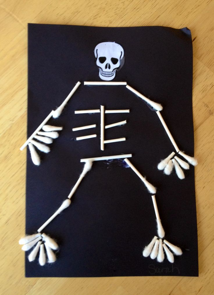 17 best images about craft tips on pinterest crafts for Q tip skeleton craft template