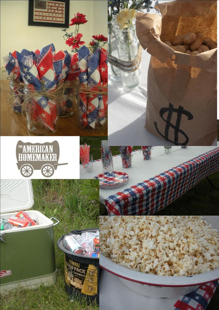 The American Homemaker: Wild West Hoe Down Party