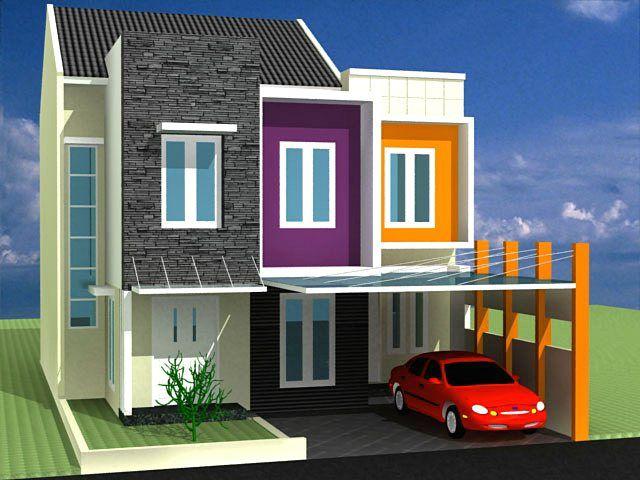 15 Warna Cat Dinding Luar Rumah Yang Cerah 2020   Dekor ...