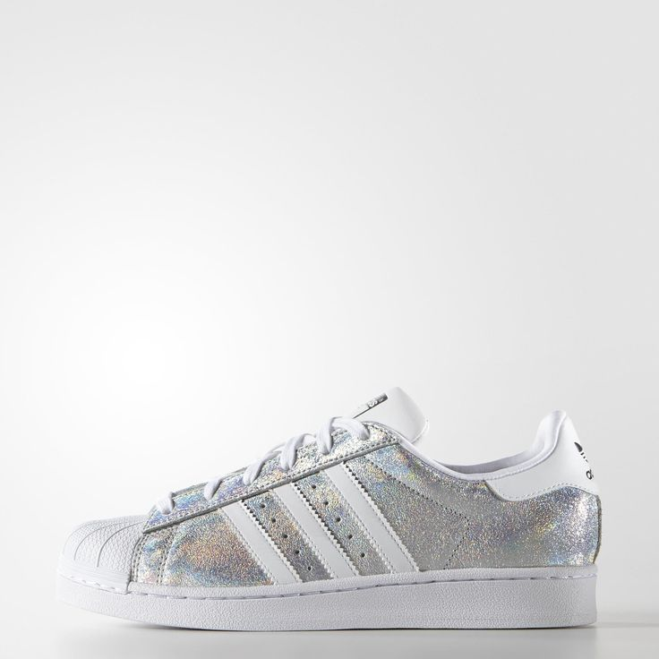Adidas Superstar Rayas Purpurina
