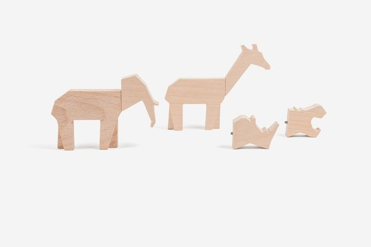 bodime (wooden animals with interchangeable heads) - lois guillán