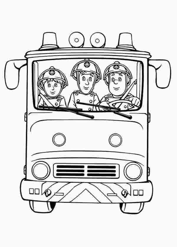 Colouring Pages For Fireman Sam Bomberos Muebles Con Palets Palets