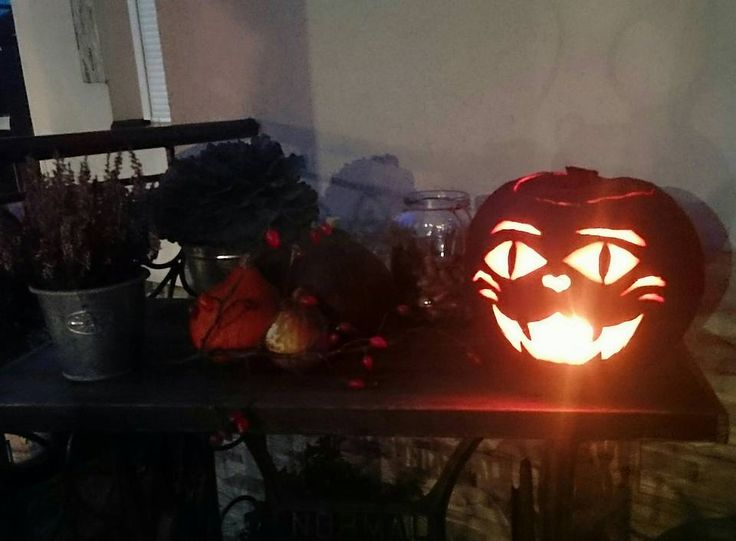 Halloween, pumpkin, cat, kitty.....diy....