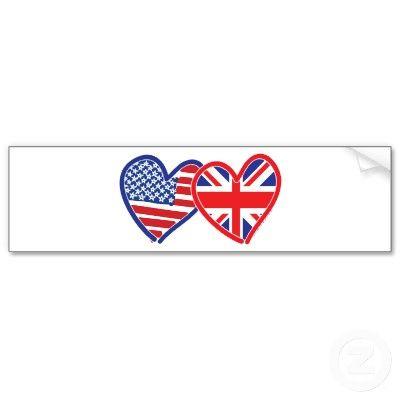 British American Themed Wedding