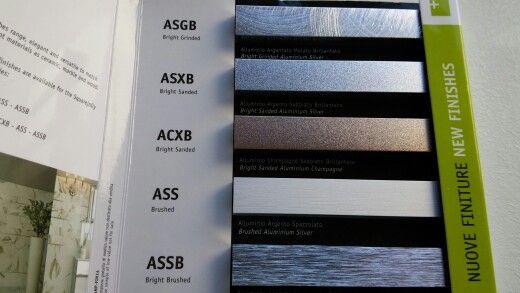 Noile brauri metalice pentru faianta de la Profilitec.